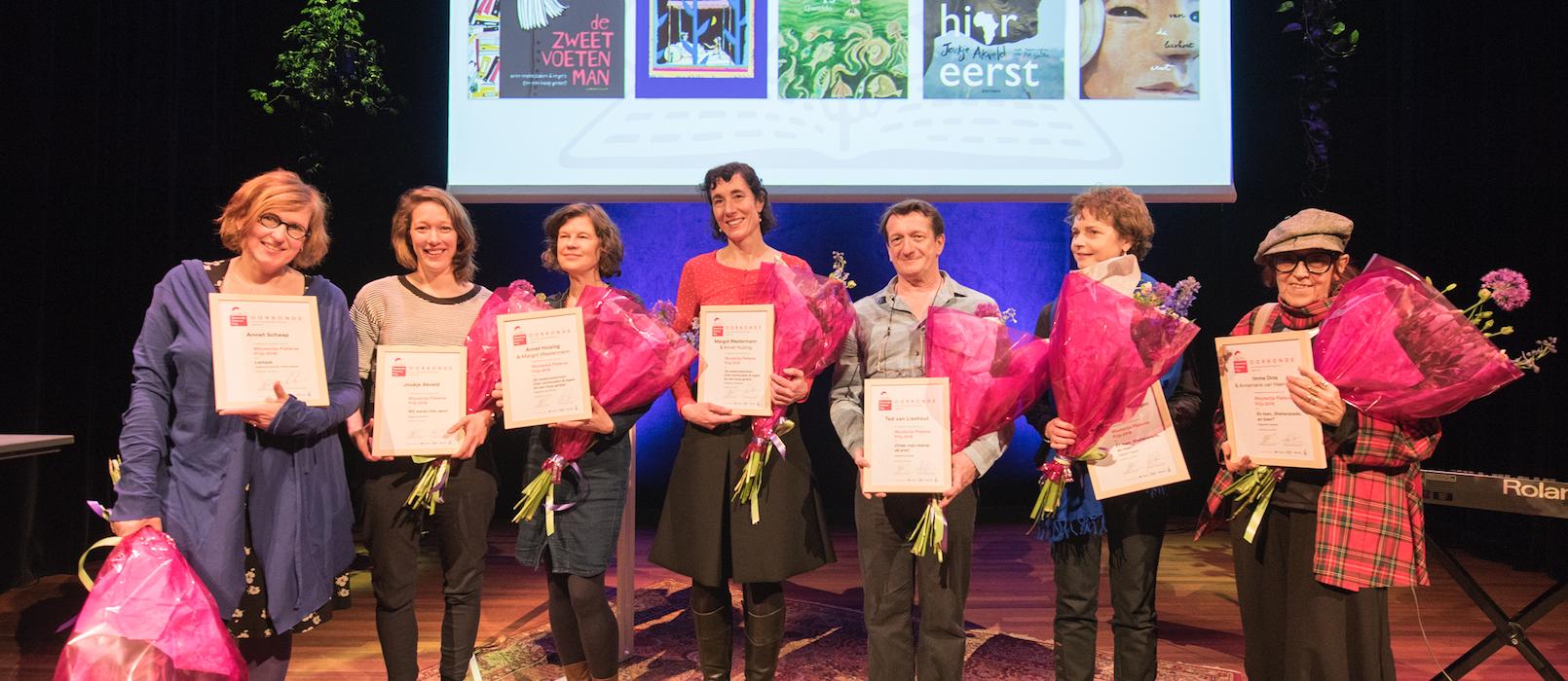 Woutertje Pieterse Prijs 2018 voor 'Lampje' van Annet Schaap
